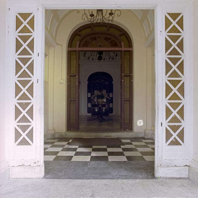 Vestibule. Leong Yin Khean Mansion